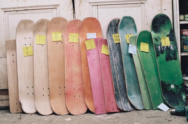Skater responsable avec Paradi Skateboard