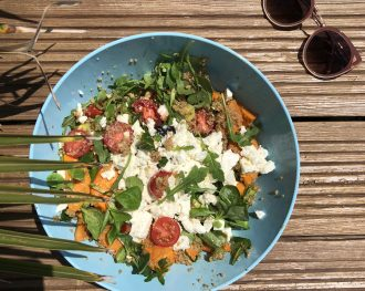 Recette : la salade énergie Surf and the City